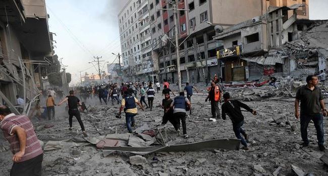 Israel intensifies attacks in Gaza, as death toll rises above 200