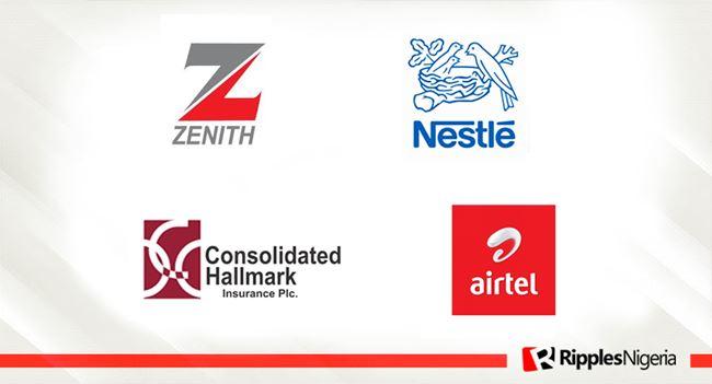 Airtel, Zenith Bank, Nestle, and Consolidated Hallmark make Ripples Nigeria stocks-to-watch list