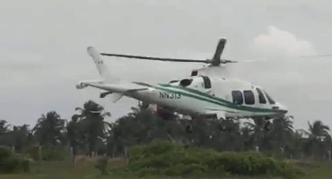 FACT CHECK: Did a helicopter drop arms for bandits in South-West?