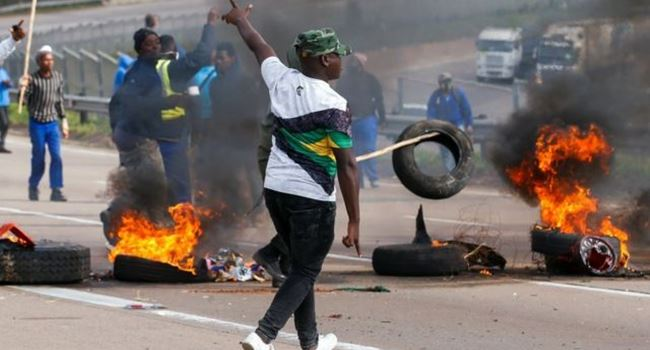 Death toll in South African Zuma riots rise to 75, with 1,270 arrested