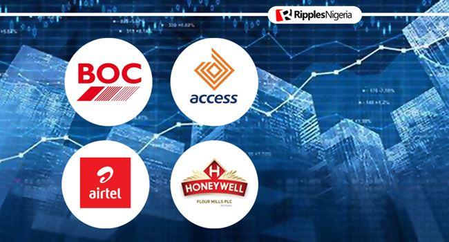 Debt burden, acquisitions make BOC Gases, Access Bank, Airtel Africa, Honeywell Flour stocks to watch this week