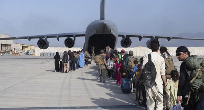 U.S ends 20-yr war with final evacuation flights, as Taliban takes over Kabul airport