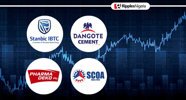 Dangote Cement makes Ripples stocks-to-watch list, alongside Stanbic IBTC, SCOA Nigeria, Pharmdeko
