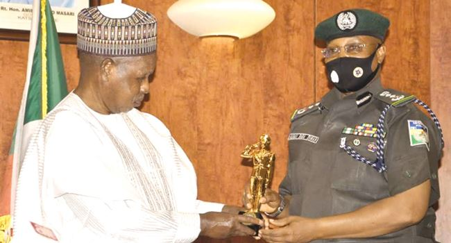 Masari decries lack of resources available to Police Force