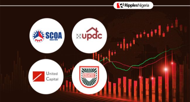 United Capital, Champion Brew, two others make Ripples Nigeria stocks-to-watch list