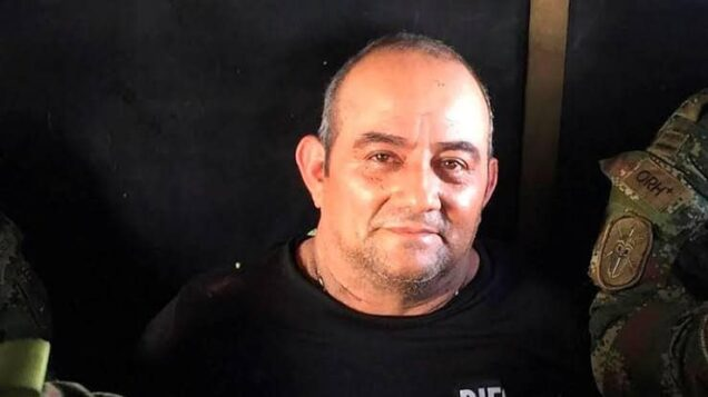 Colombian security forces capture 'most-wanted drug lord, Otoniel